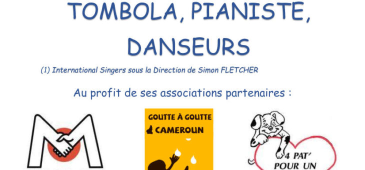 Next Charity Concert: 09th November, 19h30 in Gruson