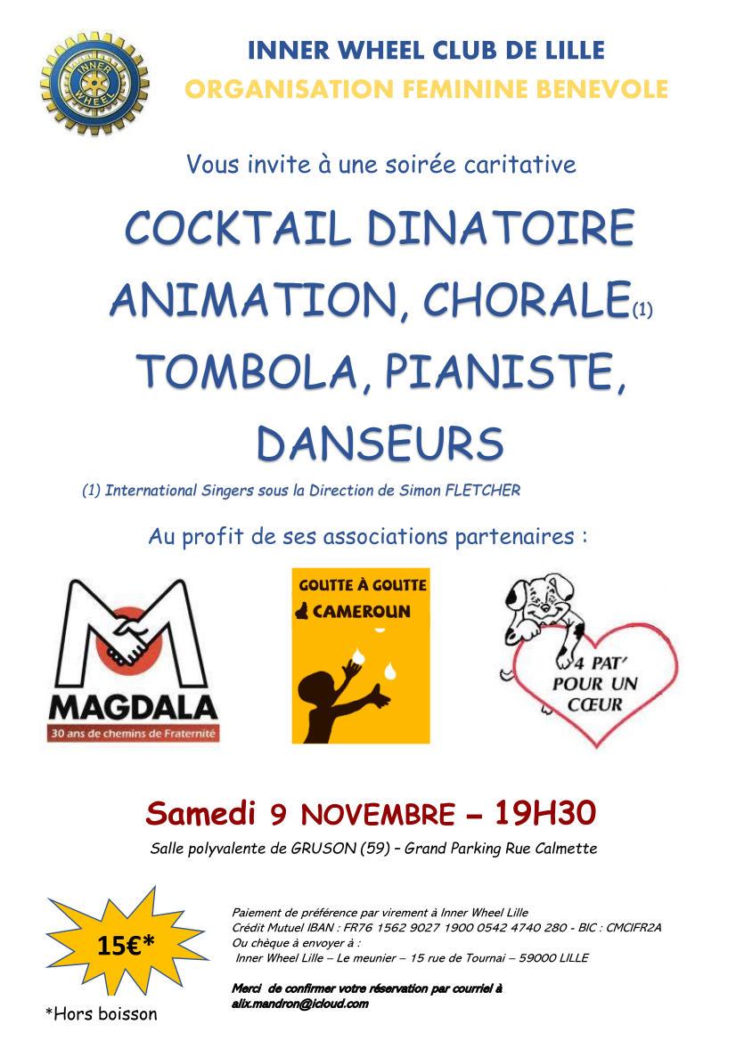 Poster Charity Concert Inner Wheel