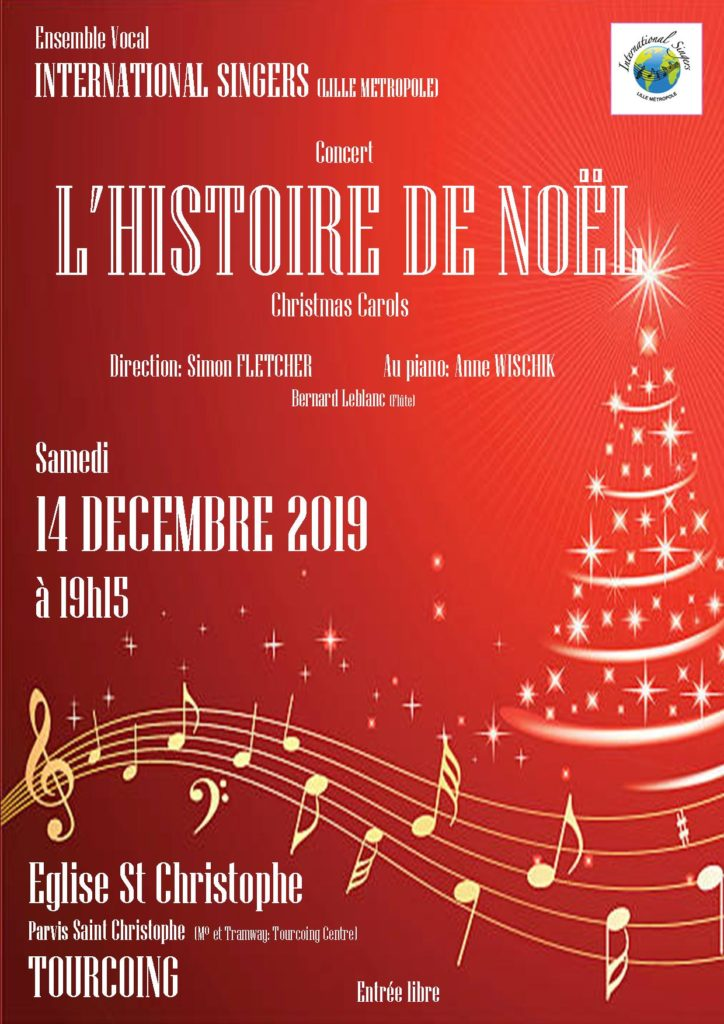Affiche concert Tourcoing